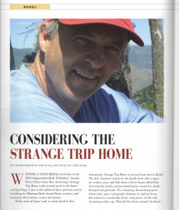 page one of Montana Quarterly Interview